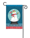 Snow Globe BreezeArt Garden Flag