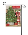 Christmas Tree BreezeArt Garden Flag