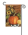 Harvest Gathering BreezeArt Garden Flag