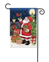 Hometown Santa BreezeArt Garden Flag