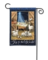 Joy to the World BreezeArt Garden Flag