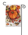 Pumpkin Crate BreezeArt Garden Flag