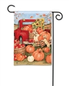 Pumpkin Delivery BreezeArt Garden Flag