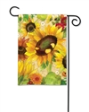 Yellow Sunflower BreezeArt Garden Flag