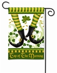Irish Jig Decorative Garden Flag