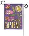 Love My Garden Decorative Garden Flag