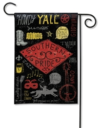 Southern Pride BreezeArt Garden Flag