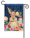 Bunny Bliss BreezeArt Garden Flag
