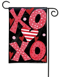 Hugs and Kisses BreezeArt Garden Flag
