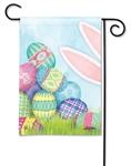 Where's The Bunny? BreezeArt Garden Flag