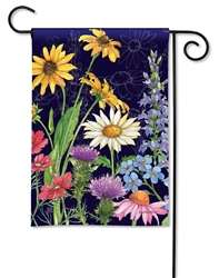 Wildflower Mix BreezeArt Garden Flag