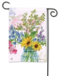 Jars of Sunshine BreezeArt Garden Flag