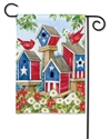 All American Birdhouses BreezeArt Garden Flag
