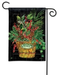 Holiday Door BreezeArt Garden Flag