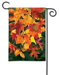 Autumn Leaves BreezeArt Garden Flag