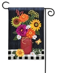 Autumn Blooms BreezeArt Garden Flag