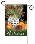 Spiced Oranges BreezeArt Garden Flag
