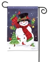 Frosty Friends BreezeArt Garden Flag