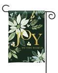 Poinsettia Joy BreezeArt Garden Flag