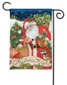 Christmas Magic BreezeArt Garden Flag