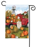Pumpkins for Sale BreezeArt Garden Flag