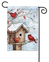 Winter Haven BreezeArt Garden Flag