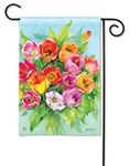 Tulips BreezeArt Garden Flag