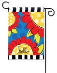 Pop of Flowers BreezeArt Garden Flag