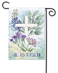 Resurrection BreezeArt Garden Flag