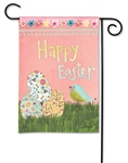 Easter Eggs BreezeArt Garden Flag