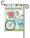 Enjoy the Ride BreezeArt Garden Flag