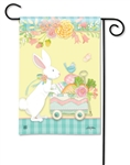 Easter Delivery BreezeArt Garden Flag