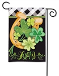 Lucky to be Irish BreezeArt Garden Flag