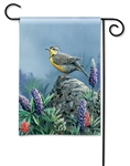 Meadowlark BreezeArt Garden Flag