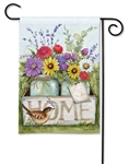 Welcome Home BreezeArt Garden Flag