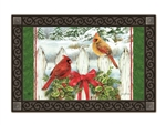 Winter Splendor MatMates Decorative Doormat