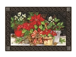Christmas Beauty MatMates Decorative Doormat