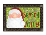 Jolly St. Nick  MatMates Decorative Doormat