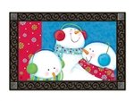 Ready for Snow MatMates Decorative Doormat