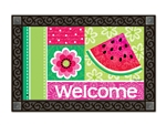 Watermelon Welcome MatMates Doormat