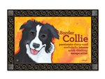 Border Collie MatMates Doormat