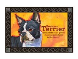 Boston Terrier Matmates Doormat