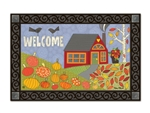 Pumpkin Patch MatMates Doormat