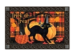 Witch Hat Cat MatMates Doormat