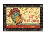 Thanksgiving Turkey MatMates Doormat
