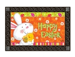 Bunny Love MatMates Decorative Doormat