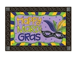 Mardi Gras MatMates Decorative Doormat