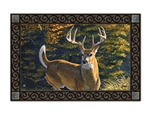 Whitetail Buck MatMates Doormat