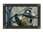 Raccoon MatMates Decorative  Doormat