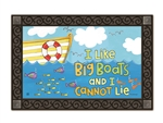 Big Boats MatMates Decorative Doormat